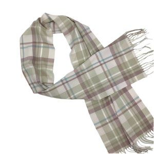 D&Y Classic Softer Than Cashmere Plaid Scarf OS